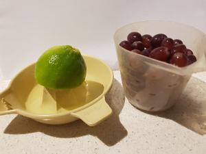 red grape mocktail ingredients