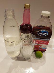 cranberry lime rickey ingredients