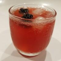 blackberry honey mocktail