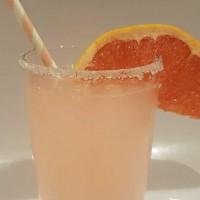 pink grapefruit mocktail fizz