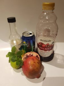 pomegranate lemonade ingredients