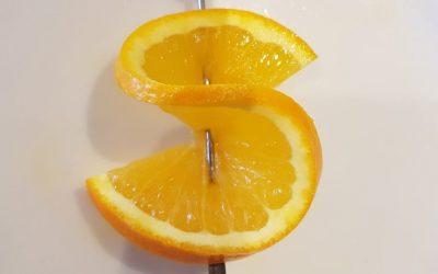 Orange Slice Twist