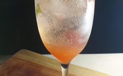 Strawberry Basil Mocktail